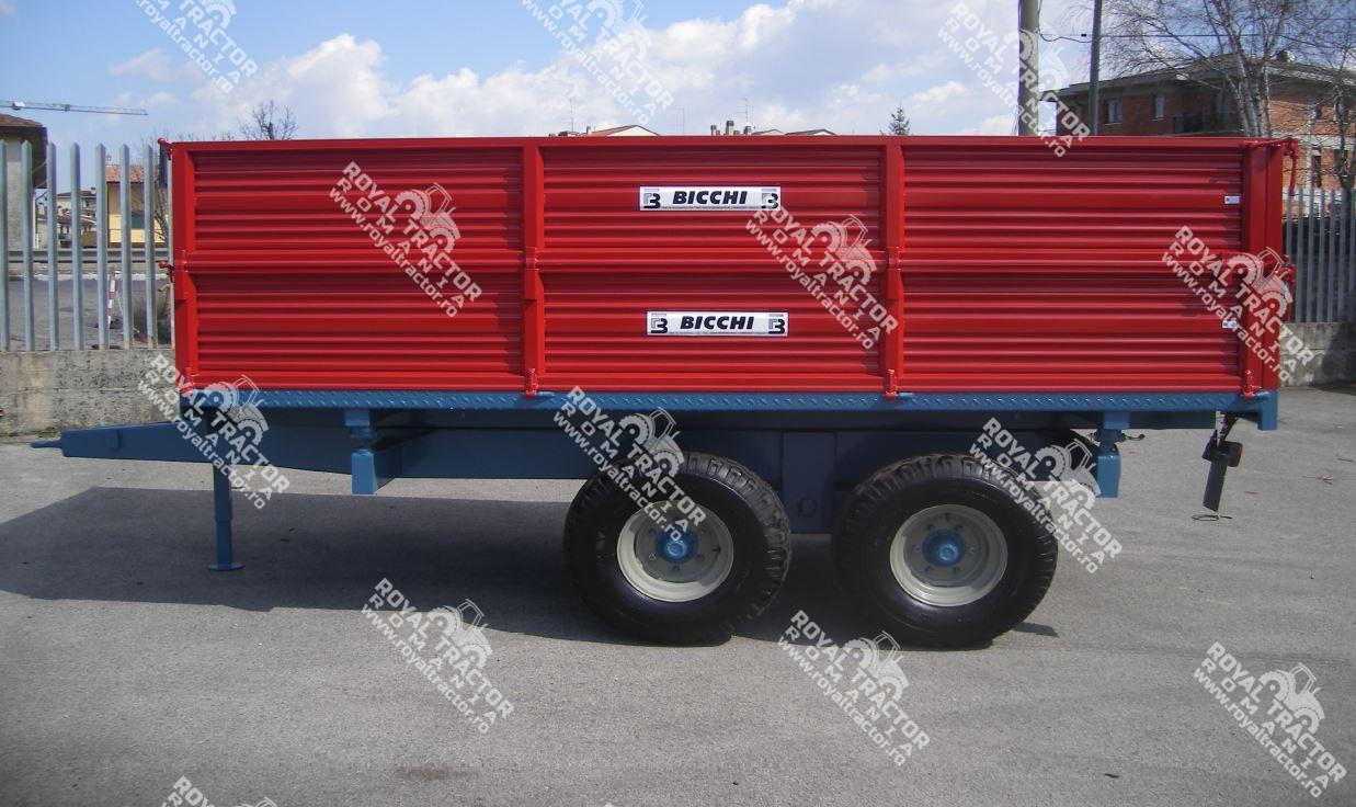 Bicchi B502L/TA pótkocsi