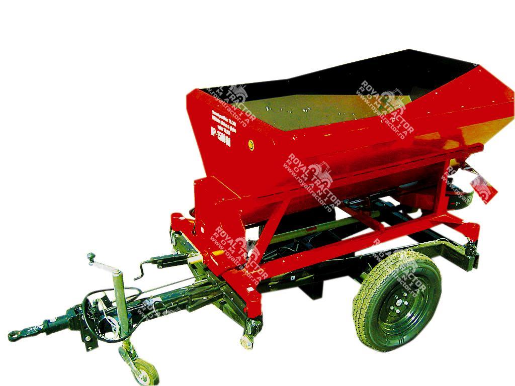 Bagodi BP-1500 MCS pótkocsi