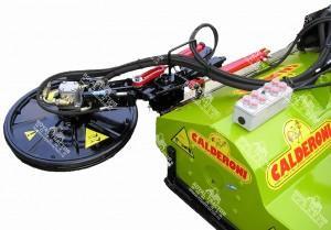Calderoni  szárzúzó adapterek