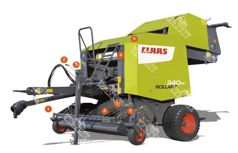 Claas ROLLANT 350/340 bálázó