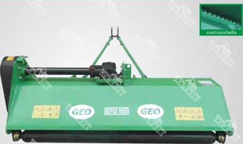 GEO EFG 105 szárzúzó