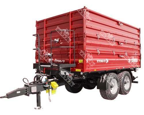 METAL FACH T-730/3 pótkocsi