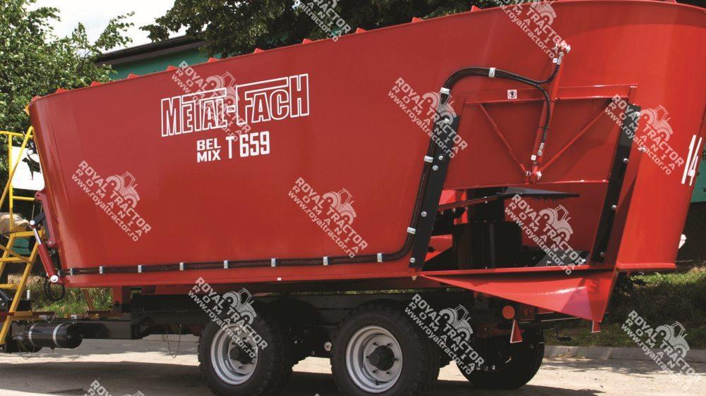 Metal-Fach T659 BEL-MIX 2 rotoros takarmánykeverő