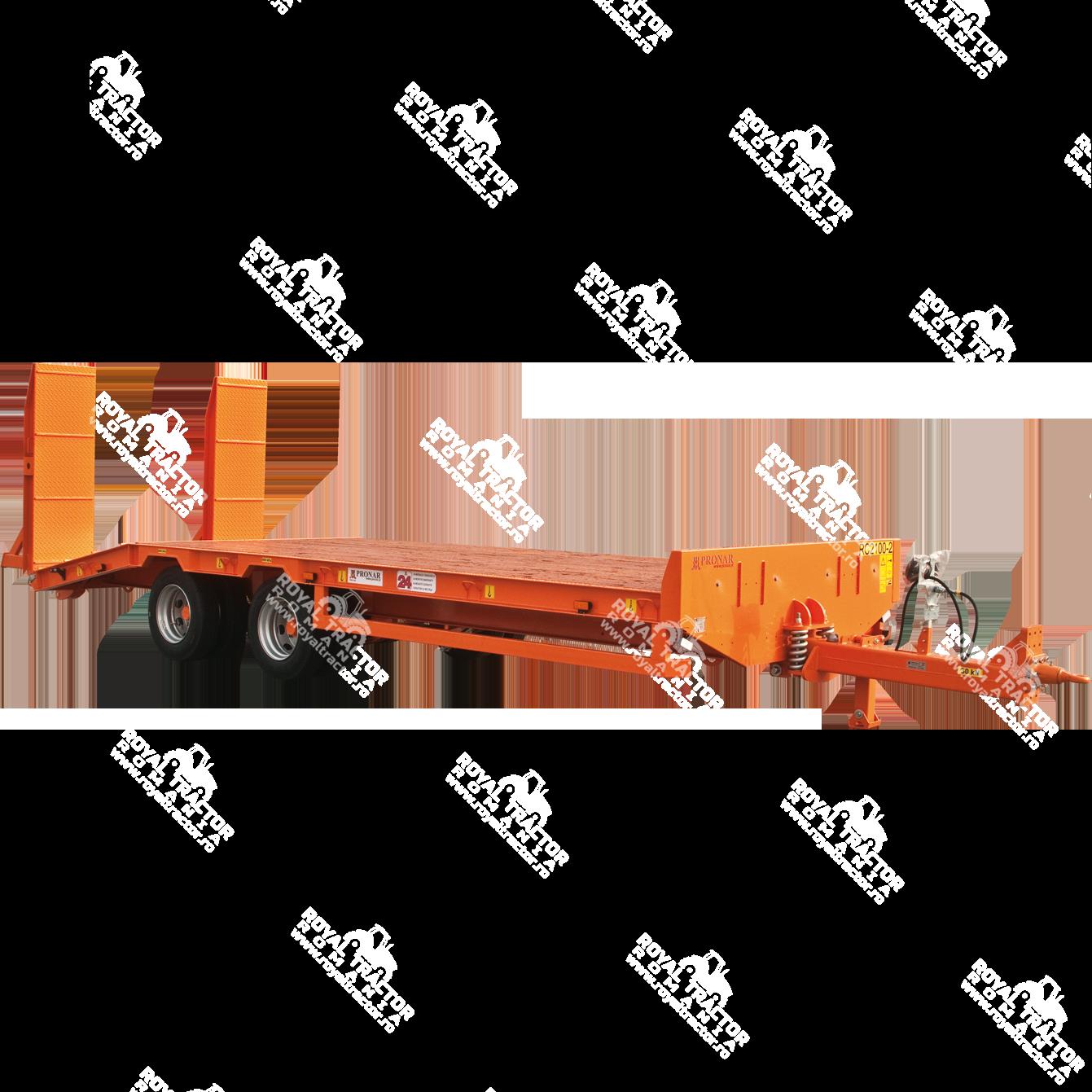 Pronar RC2100/2 alacsonyalvázas pótkocsi