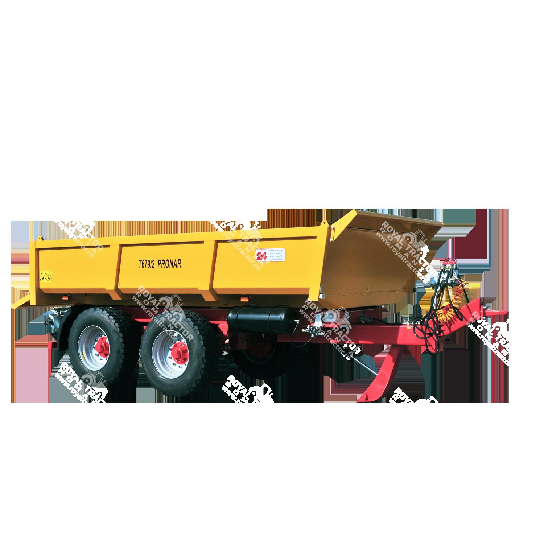 Pronar T679/2 építőipari pótkocsi