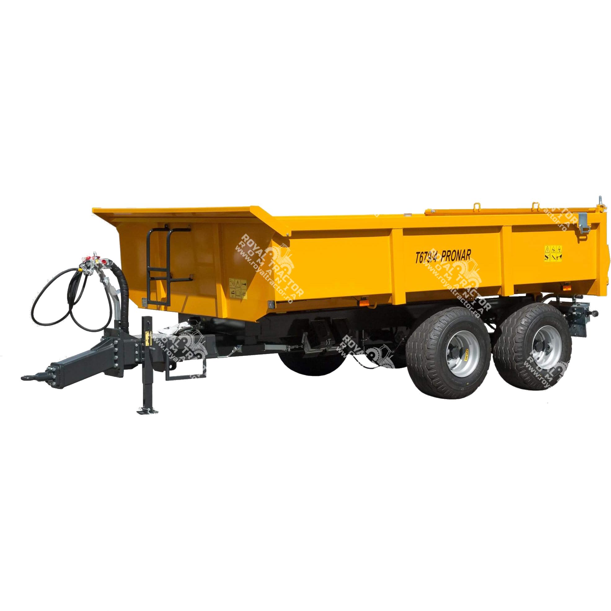 Pronar T679/4 építőipari pótkocsi