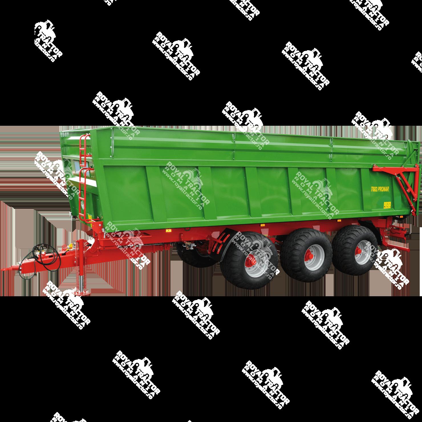 Pronar T682 pótkocsi