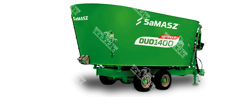 Samasz DUO takarmánykeverő