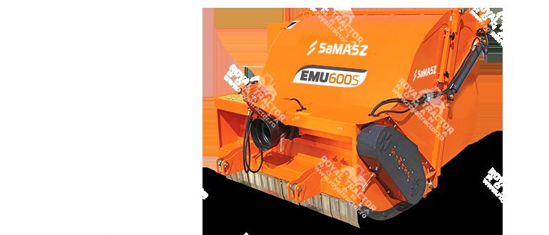 Samasz EMU 160 S gyüjtő-szárzúzó