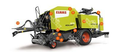 Claas ROLLANT 375 bálázó