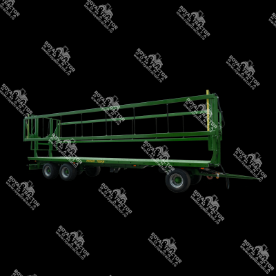 Pronar T028KM bálaszállító pótkocsi