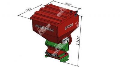 Agro-Masz SP200 másodvetőgép