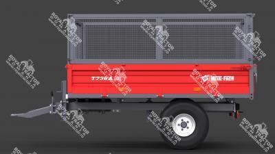 METAL FACH T-736A pótkocsi