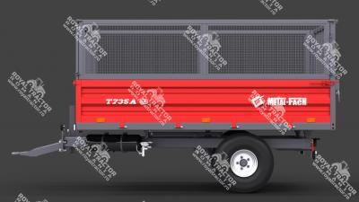 METAL FACH T-735 pótkocsi