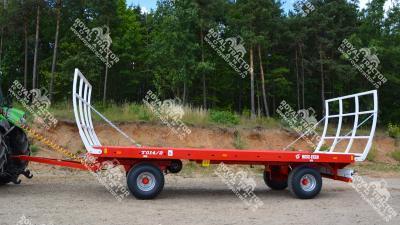 METAL FACH T-014 bálaszállító pótkocsi