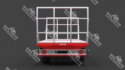 METAL FACH T-009 bálaszállító pótkocsi
