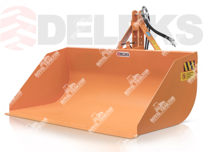 Deleks PRI-140U Hidraulikus szállítóláda