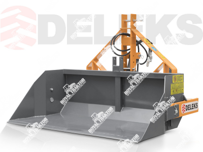 Deleks PRI-160H Hidraulikus szállítóláda